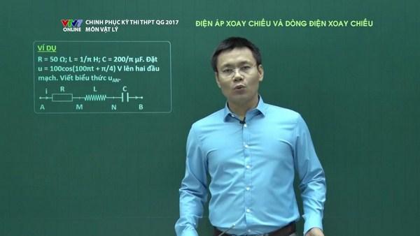 Học trực tuyến điện xoay chiều trong vật lý