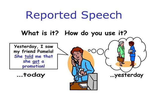 Cách sử dụng câu tường thuật trong tiếng Anh
