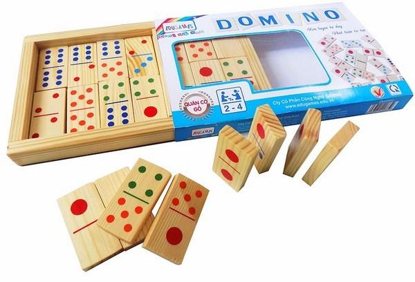 Học toán bằng cách đếm nốt domino