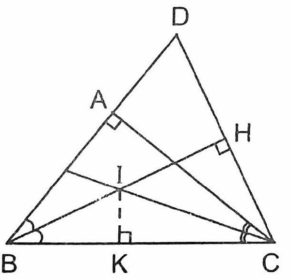 Bài tập tam giác đồng dạng với những câu hỏi phụ liên quan đến kiến thức nền
