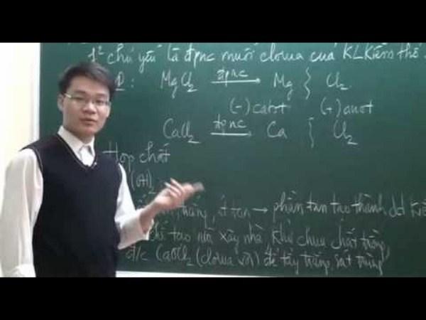 Một số tính chất hóa học của muối