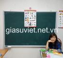 Gia sư có kinh nghiệm dạy môn Tiếng Anh các lớp từ lớp 1 đến lớp 9